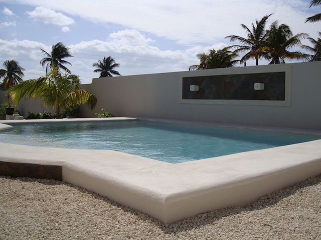 Beautiful Sante Fe style ocean front beach house Chuburna Yucatan