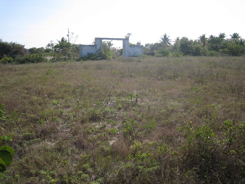 Huge lot can be divided into 8 lots total 3360 m2 between Chelem and Chuburna